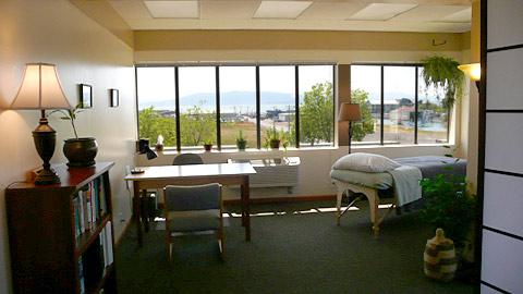 Treatment Room at Vital Source Natural Medicine, Bellingham, WAv